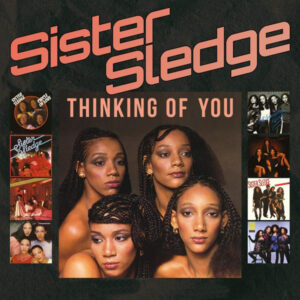 Official Kathy Sledge Sister Sledge Thinking of You album cover